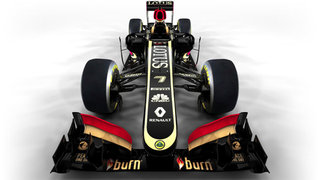 new lotus f1 steering wheel has tweet button image 2