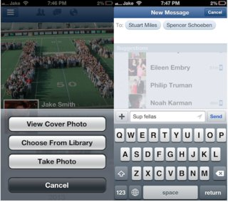facebook for ios updated with cover photos and group messaging improvements image 2
