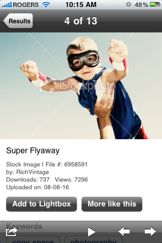 app of the day istockphoto iphone  image 3