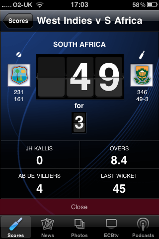 app of the day ecb cricket iphone image 3