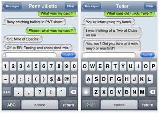 app of the day penn teller chat magic trick iphone  image 4