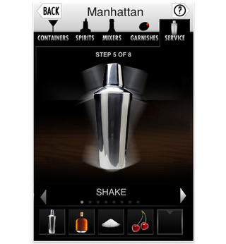 app of the day mad men cocktail culture iphone  image 4