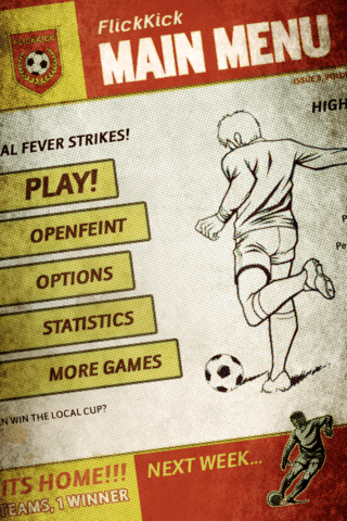 app of the day flick kick football iphone  image 6