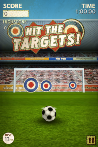 app of the day flick kick football iphone  image 7