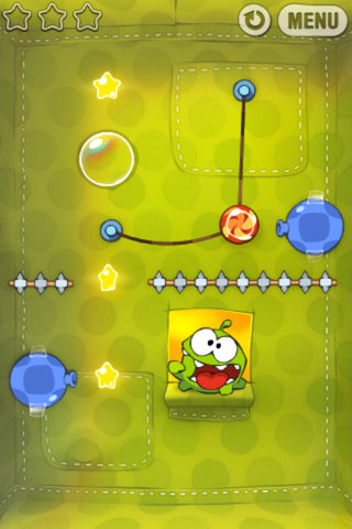 app of the day cut the rope iphone image 2