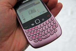 blackberry curve 8520 in pink exclusive to phones 4u  image 3