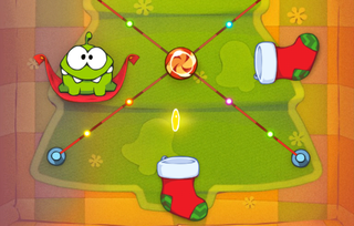 app vent calendar day 10 cut the rope holiday gift iphone ipod touch ipad  image 3