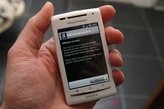 sony ericsson xperia x8 revisited updating to android 2 1  image 5