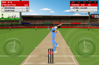 iphone stick cricket spins into the app store image 4