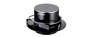 samsung sets the standard with world s lightest 3d shutter glasses image 2