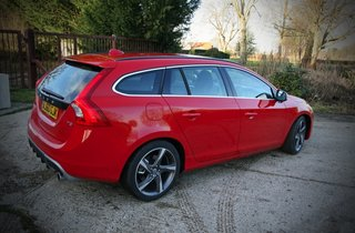 volvo v60 r design 2011 hands on image 7