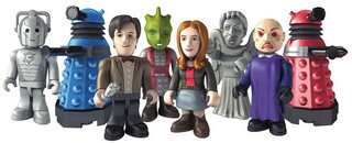 doctor who character building figures like timelord shaped lego minifigs image 4