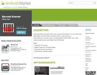 android market website will push apps to your phone image 5