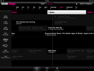 bbc iplayer for ipad hands on image 4