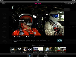 bbc iplayer for ipad hands on image 9