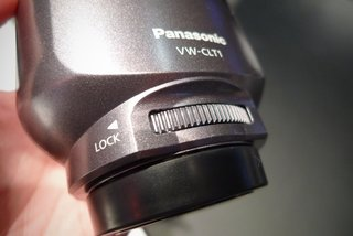 panasonic vw clt1 3d camcorder lens hands on image 2