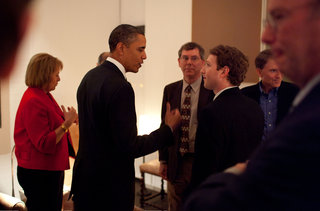 steve jobs mark zuckerberg and others dine with the president image 2