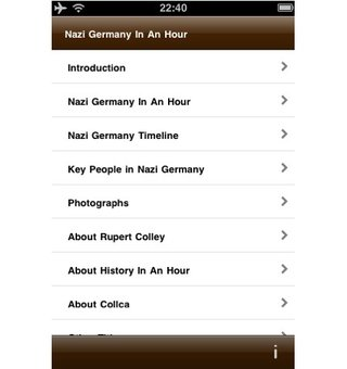 app of the day nazi germany in an hour review iphone ipod touch ipad  image 3
