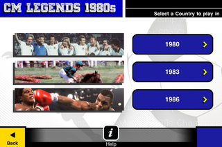 app of the day championship manager 1980s legends review iphone ipod touch  image 6