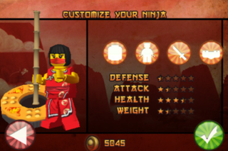 app of the day lego ninjago spinjitzu scavenger hunt review iphone  image 3