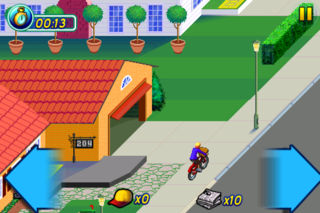 video game classic paperboy returns this time to iphone we go hands on image 3
