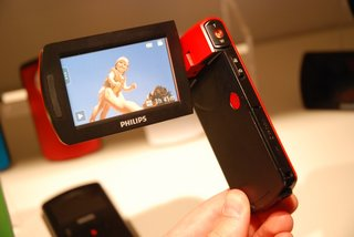 philips esee camcorder range hands on image 13