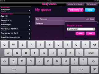 app of the day lucky voice karaoke review ipad ipad 2  image 11