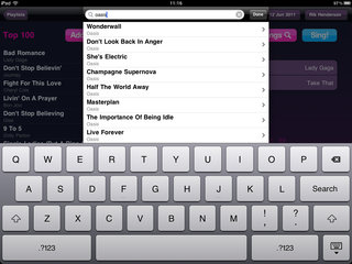 app of the day lucky voice karaoke review ipad ipad 2  image 7