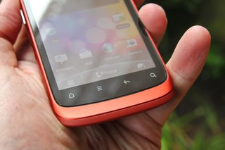 red htc desire s hands on image 11