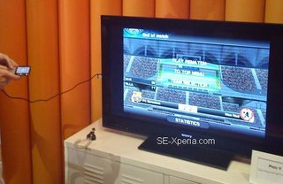 sony ericsson xperia play with hdmi output spotted image 2
