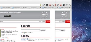 os x lion google chrome on its way canary build already sees changes image 2