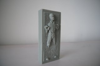 han solo in carbonite ice tray image 12