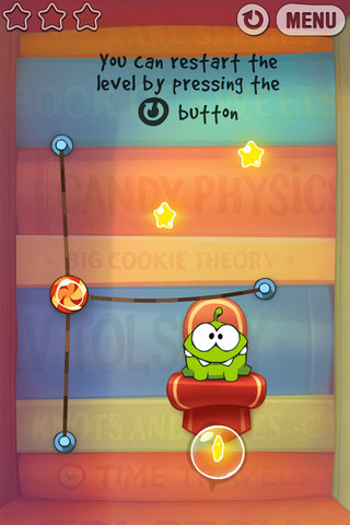 app of the day cut the rope experiments review iphone and ipad  image 4
