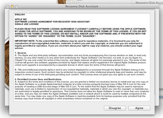 how to create an apple mac os x lion recovery disk image 4