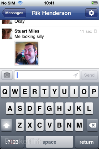 app of the day facebook messenger review ios  image 9
