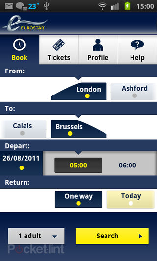 eurostar now calling at android market and iphone app store  image 2