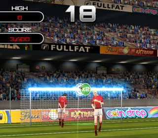 app of the day flick soccer review iphone  image 2