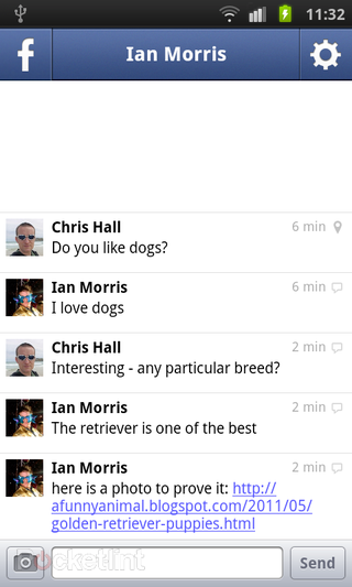 app of the day facebook messenger review android  image 2