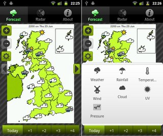 app of the day uk weather review android  image 2