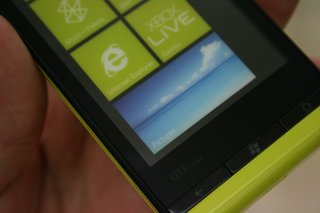 fujitsu toshiba is12t first windows phone 7 5 handset pictures and hands on image 3