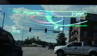 pioneer ar head up display pictures and hands on image 3
