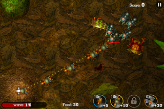 app of the day anthill tactical trail defense review iphone  image 3
