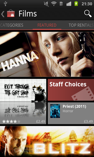 app of the day android film rentals videos android  image 8