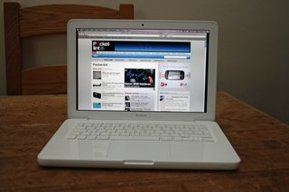 apple macbook white notebook image 2