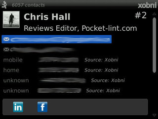 xobni for blackberry image 3