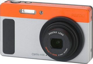pentax optio h90 compact camera  image 2