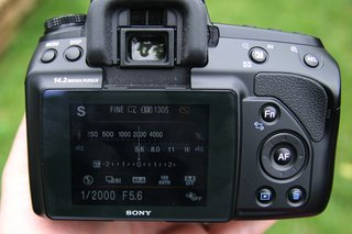 sony alpha 450 dslr camera  image 10