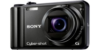 sony cyber shot dsc h55 compact camera  image 2