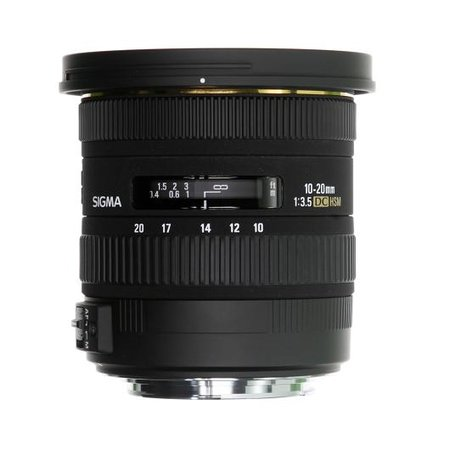 Sigma announces 10-20mm F3.5 EX DC HSM lens