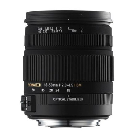 Sigma 18-50mm F2.8-4.5 DC OS HSM lens unveiled